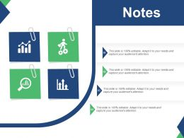 Notes For The Project Management Ppt Infographics Outline