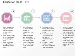 notes_id_card_news_paper_calendar_ppt_icons_graphics_Slide01