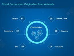 Novel Coronavirus Origination From Animals