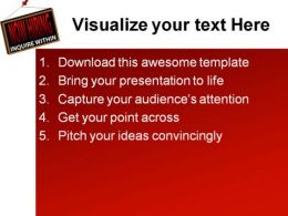 now hiring sign metaphor powerpoint templates and powerpoint