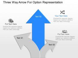 np_three_way_arrow_for_option_representation_powerpoint_temptate_Slide02