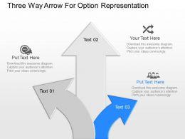 np_three_way_arrow_for_option_representation_powerpoint_temptate_Slide03