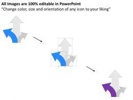 np_three_way_arrow_for_option_representation_powerpoint_temptate_Slide04