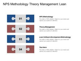 Nps Methodology Theory Management Lean Software Development Methodology Cpb