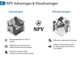 Npv Advantages And Disadvantages Ppt Portfolio