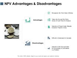 NPV Advantages And Disadvantages Ppt Powerpoint Gallery