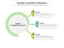 Nuclear Localization Sequence Ppt Powerpoint Presentation Layouts Slideshow Cpb