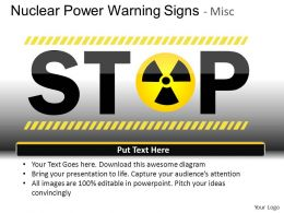 Nuclear Power Misc Powerpoint Presentation Slides DB