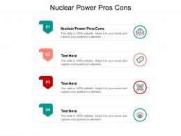 Nuclear Power Pros Cons Ppt Powerpoint Presentation Layouts Pictures Cpb