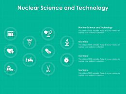 Nuclear Science And Technology Ppt Powerpoint Presentation Icon Gallery