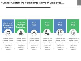 Number Customers Complaints Number Employee Suggestions Defects Ratio