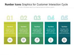 Number Icons Graphics For Customer Interaction Cycle Infographic Template