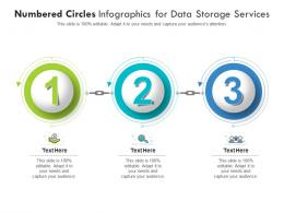 Numbered Circles For Data Storage Services Infographic Template