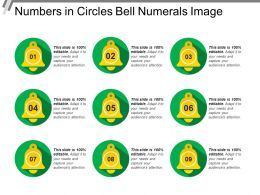 Numbers In Circles Bell Numerals Image