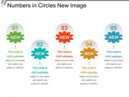 Numbers In Circles New Image