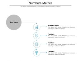 Numbers Metrics Ppt Powerpoint Presentation Portfolio Maker Cpb