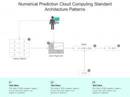 Numerical Prediction Cloud Computing Standard Architecture Patterns Ppt Presentation Diagram