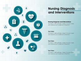 Nursing Diagnosis And Interventions Ppt Powerpoint Presentation Portfolio Graphics Template