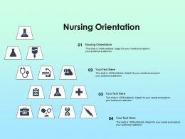 Nursing Orientation Ppt Powerpoint Presentation Infographics Example