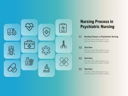 Nursing Process In Psychiatric Nursing Ppt Powerpoint Presentation File Model