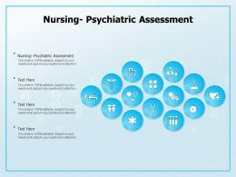Nursing Psychiatric Assessment Ppt Powerpoint Presentation Inspiration Graphics Design