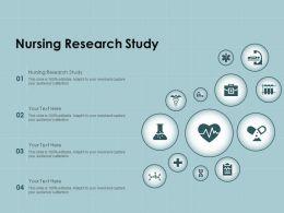 Nursing Research Study Ppt Powerpoint Presentation Ideas Layout Ideas