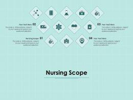 Nursing Scope Ppt Powerpoint Presentation Ideas Format Ideas