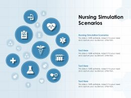 Nursing Simulation Scenarios Ppt Powerpoint Presentation Outline Diagrams