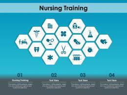 Nursing Training Ppt Powerpoint Presentation Model Graphics