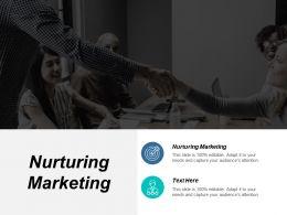 Nurturing Marketing Ppt Powerpoint Presentation Show Example File Cpb