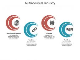 Nutraceutical Industry Ppt Powerpoint Presentation File Visual Aids Cpb