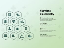 Nutritional Biochemistry Ppt Powerpoint Presentation Icon Pictures