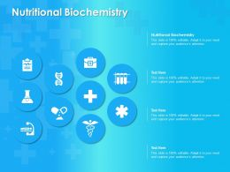 Nutritional Biochemistry Ppt Powerpoint Presentation Layouts Summary
