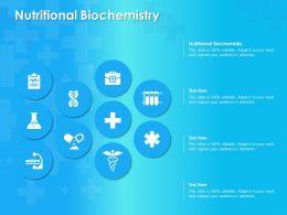 Nutritional Biochemistry Ppt Powerpoint Presentation Layouts Summary
