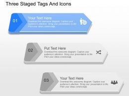 nx Three Staged Tags And Icons Powerpoint Template