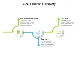 O2C Process Discovery Ppt Powerpoint Presentation Inspiration Ideas Cpb