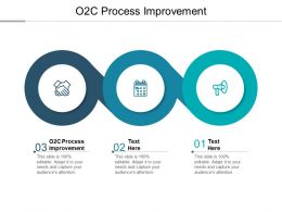 O2C Process Improvement Ppt Powerpoint Presentation Ideas Graphics Cpb
