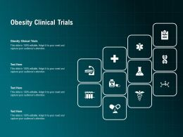 Obesity Clinical Trials Ppt Powerpoint Presentation Professional Icons