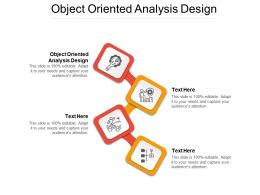 Object Oriented Analysis Design Ppt Powerpoint Presentation Pictures Sample Cpb