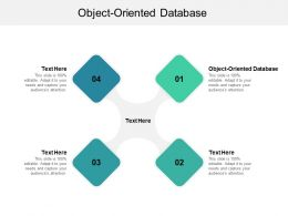 Object Oriented Database Ppt Powerpoint Presentation File Graphics Cpb