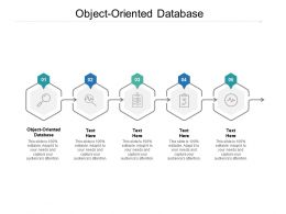 Object Oriented Database Ppt Powerpoint Presentation Pictures Slides Cpb