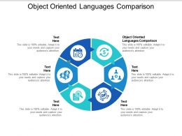 Object Oriented Languages Comparison Ppt Powerpoint Presentation Layouts Show Cpb