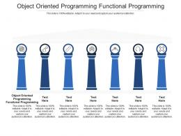 Object Oriented Programming Functional Programming Ppt Powerpoint Presentation Show Graphics Cpb