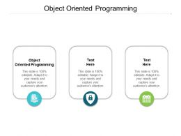 Object Oriented Programming Ppt Powerpoint Presentation Outline Introduction Cpb