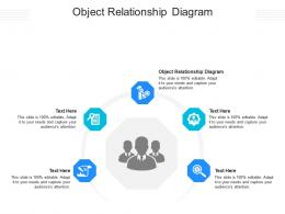 Object Relationship Diagram Ppt Powerpoint Presentation Portfolio Background Cpb