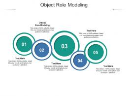 Object Role Modeling Ppt Powerpoint Presentation Ideas Cpb