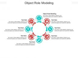 Object Role Modeling Ppt Powerpoint Presentation Ideas Design Ideas Cpb