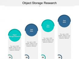 Object Storage Research Ppt Powerpoint Presentation Ideas Example Cpb