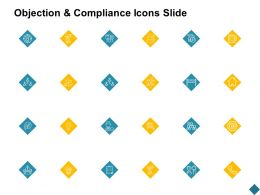Objection And Compliance Icons Slide Checklist Gear C870 Ppt Powerpoint Presentation File Clipart Images