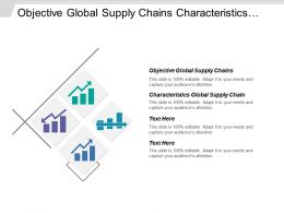 Objective Global Supply Chains Characteristics Global Supply Chain